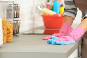 Is cleaning the same as disinfecting?