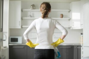 What can I use to disinfect kitchen countertops?