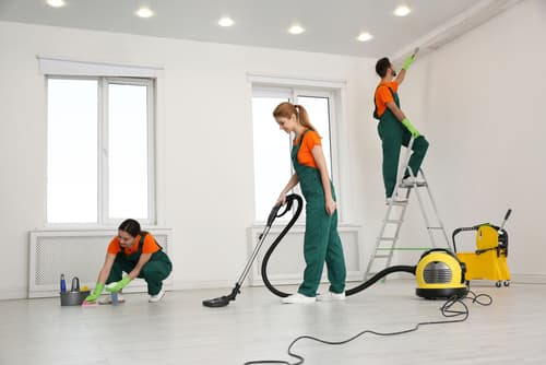 Should you clean your new house before or after you move in