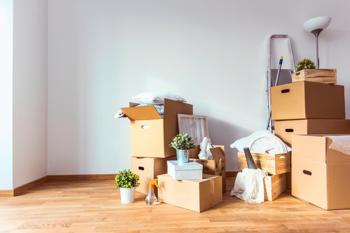 tips moving in cleaning